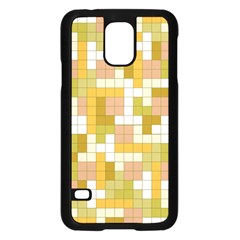 Tetris Camouflage Desert Samsung Galaxy S5 Case (black) by jumpercat
