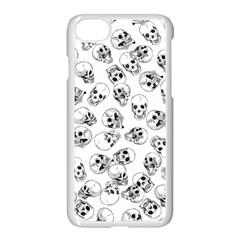 A Lot Of Skulls White Apple Iphone 7 Seamless Case (white) by jumpercat