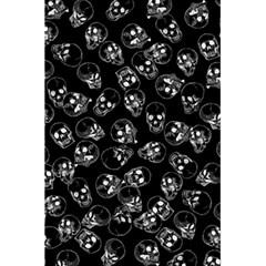 A Lot Of Skulls Black 5 5  X 8 5  Notebooks by jumpercat