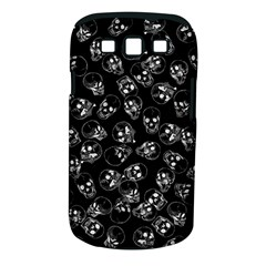 A Lot Of Skulls Black Samsung Galaxy S Iii Classic Hardshell Case (pc+silicone) by jumpercat