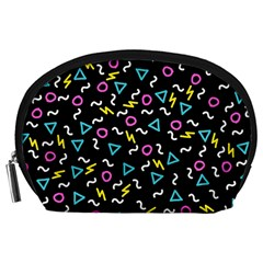 Retro Wave 3 Accessory Pouches (large)  by jumpercat