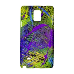 Ink Splash 02 Samsung Galaxy Note 4 Hardshell Case by jumpercat