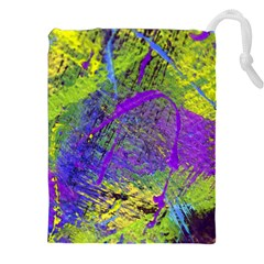 Ink Splash 02 Drawstring Pouches (xxl) by jumpercat