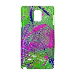 Ink Splash 03 Samsung Galaxy Note 4 Hardshell Case by jumpercat