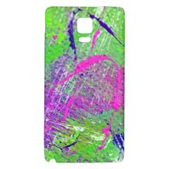 Ink Splash 03 Galaxy Note 4 Back Case by jumpercat
