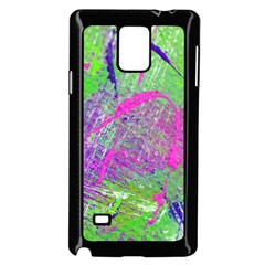 Ink Splash 03 Samsung Galaxy Note 4 Case (black) by jumpercat