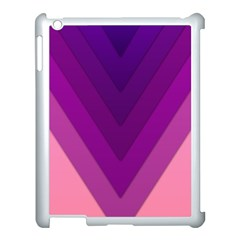 Tri 01 Apple Ipad 3/4 Case (white) by jumpercat