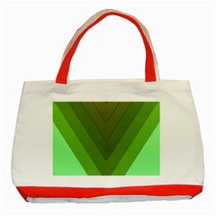 Tri 03 Classic Tote Bag (red) by jumpercat