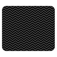 Dark Chevron Double Sided Flano Blanket (small)  by jumpercat