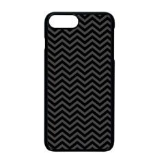 Dark Chevron Apple Iphone 7 Plus Seamless Case (black) by jumpercat