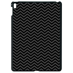 Dark Chevron Apple Ipad Pro 9 7   Black Seamless Case by jumpercat
