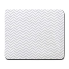 Light Chevron Large Mousepads by jumpercat