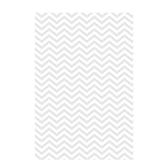 Light Chevron Shower Curtain 48  X 72  (small)  by jumpercat