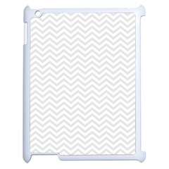Light Chevron Apple Ipad 2 Case (white) by jumpercat