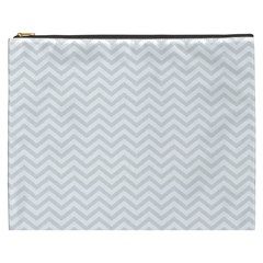 Light Chevron Cosmetic Bag (xxxl)  by jumpercat