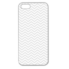Light Chevron Apple Seamless Iphone 5 Case (clear) by jumpercat