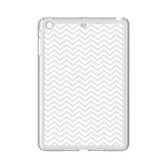 Light Chevron Ipad Mini 2 Enamel Coated Cases by jumpercat