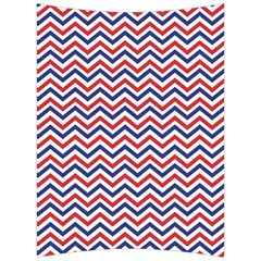 Navy Chevron Back Support Cushion by jumpercat