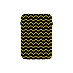 Yellow Chevron Apple Ipad Mini Protective Soft Cases by jumpercat