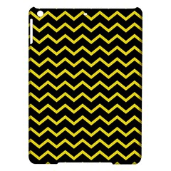 Yellow Chevron Ipad Air Hardshell Cases by jumpercat