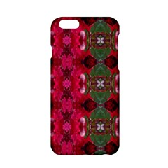Christmas Colors Wrapping Paper Design Apple Iphone 6/6s Hardshell Case by Fractalsandkaleidoscopes