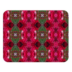 Christmas Colors Wrapping Paper Design Double Sided Flano Blanket (large)  by Fractalsandkaleidoscopes