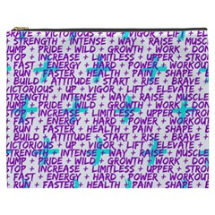 Hard Workout Cosmetic Bag (xxxl)  by jumpercat