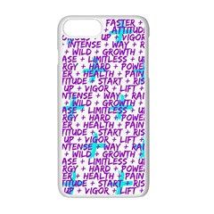 Hard Workout Apple Iphone 7 Plus Seamless Case (white) by jumpercat