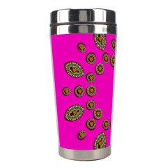 Sweet Hearts In  Decorative Metal Tinsel Stainless Steel Travel Tumblers by pepitasart