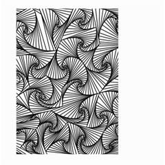 Fractal Sketch Light Large Garden Flag (two Sides) by jumpercat
