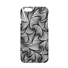 Fractal Sketch Light Apple Iphone 6/6s Hardshell Case by jumpercat