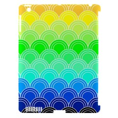 Art Deco Rain Bow Apple Ipad 3/4 Hardshell Case (compatible With Smart Cover) by 8fugoso