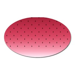 Watermelon Oval Magnet by jumpercat