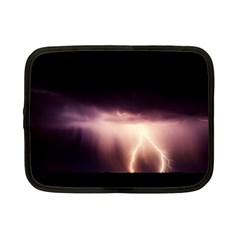 Storm Weather Lightning Bolt Netbook Case (small)  by BangZart