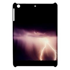 Storm Weather Lightning Bolt Apple Ipad Mini Hardshell Case by BangZart