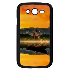 Bled Slovenia Sunrise Fog Mist Samsung Galaxy Grand Duos I9082 Case (black) by BangZart