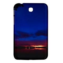 Canada Lake Night Evening Stars Samsung Galaxy Tab 3 (7 ) P3200 Hardshell Case  by BangZart