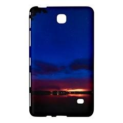 Canada Lake Night Evening Stars Samsung Galaxy Tab 4 (8 ) Hardshell Case  by BangZart