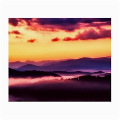 Great Smoky Mountains National Park Small Glasses Cloth (2 Side) by BangZart