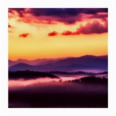 Great Smoky Mountains National Park Medium Glasses Cloth (2 Side) by BangZart