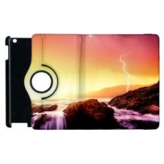 California Sea Ocean Pacific Apple Ipad 3/4 Flip 360 Case by BangZart