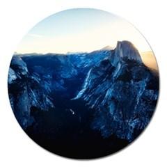 Yosemite National Park California Magnet 5  (round) by BangZart