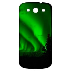 Aurora Borealis Northern Lights Samsung Galaxy S3 S Iii Classic Hardshell Back Case by BangZart