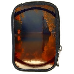 River Water Reflections Autumn Compact Camera Cases by BangZart