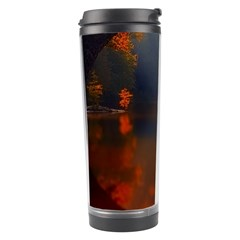 River Water Reflections Autumn Travel Tumbler by BangZart