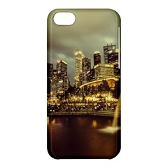 Singapore City Urban Skyline Apple Iphone 5c Hardshell Case by BangZart