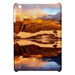 France Snow Winter Sunrise Fog Apple Ipad Mini Hardshell Case