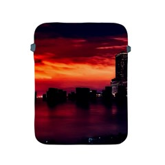 New York City Urban Skyline Harbor Apple Ipad 2/3/4 Protective Soft Cases by BangZart
