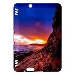 South Africa Sea Ocean Hdr Sky Kindle Fire Hdx Hardshell Case by BangZart