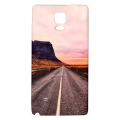 Iceland Sky Clouds Sunset Galaxy Note 4 Back Case by BangZart